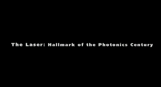 The Laser: Hallmark of the Photonics Century (2000) - English